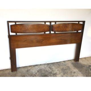 Burl-wood Full Size Headboard