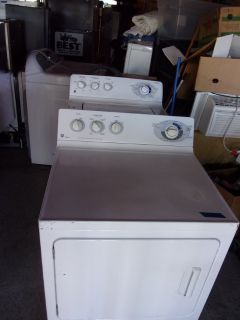 GE Matching Washer and Dryer Set
