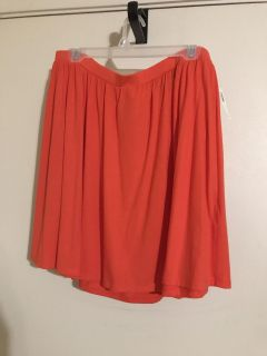 NWT xl red skirt, old navy