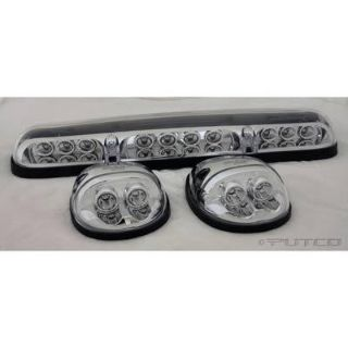 Purchase Putco 900511 Roof Marker Lights LED Clear Lens Chevy/GMC Pickup Kit motorcycle in Tallmadge, Ohio, US, for US $99.97