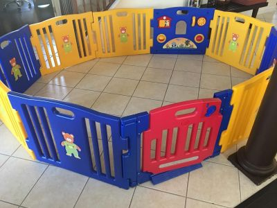 Gymex Play Yard with Extensions