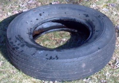Looking for ONE FREE OLD TIRE