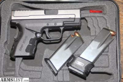 For Sale: Springfield XP 2.0 .45 Sub Compact