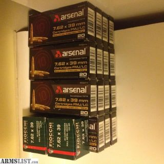 For Sale: AK Ammo