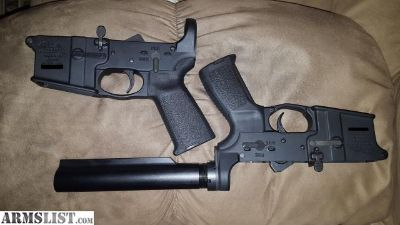 For Sale: Anderson AR Lowers (2 ea) Complete