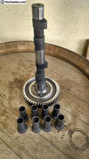 Camshaft-German-110 cam /gear and lifters