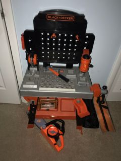 Black and Decker Kids Tool Bench
