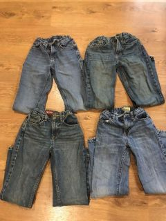 Size 10 slim Arizona and Old Navy Jeans