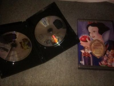 Snow White & Beauty and the beast dvds