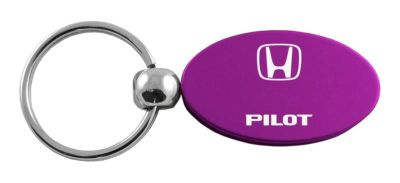 Buy Honda Pilot Purple Oval Keychain / Key fob Engraved in USA Genuine motorcycle in San Tan Valley, Arizona, US, for US $14.61