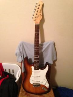 turser strat electric guitar
