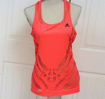 Adidas Running M Athletic Razorback Tank Gym Work Out Cross Fit Knit Top Women Juniors Young La...