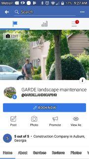 Full lawn maintenance & Landscaping