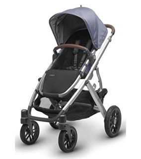 UPPABABY 2017 Vista Stroller with Leather Handles in Henry-NEW in Retail Package-Fully Inspected