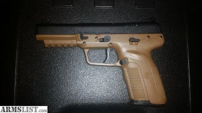 For Sale: Fn 5.7 FDE 3 mags