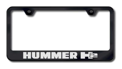 Find GM Hummer H2 Etched License Plate Frame-Black Made in USA Genuine motorcycle in San Tan Valley, Arizona, US, for US $34.49