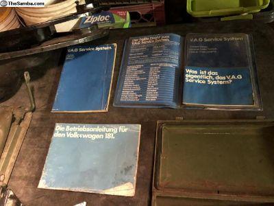 German 181 manual collection