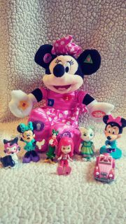 Minnie mouse and friends