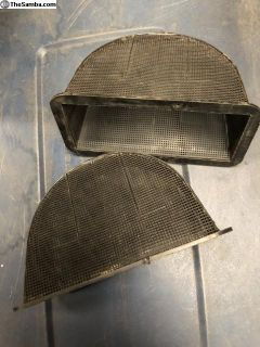 Karmann Ghia fresh air screens55-59