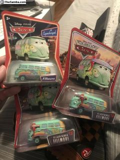 Fillmore Disney Cars VW Bus Diecast
