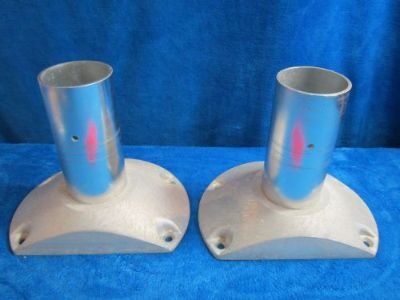 """Purchase 8"""" Moeller Brushed Aluminum Seat Pedestals -- Great condition! -- Free Shipping! motorcycle in Lake Worth, Florida, United States, for US $35.00"""