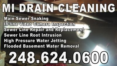 Local Plumber Sewer & Drain Cleaning (248) 624-0600