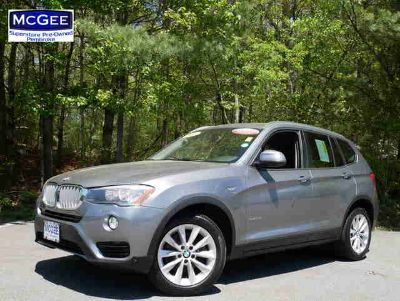 Used 2015 BMW X3 AWD 4dr