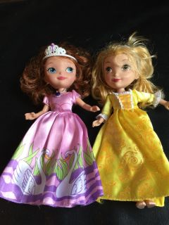 Sofia the First & Amber Doll