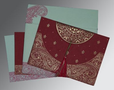 $ 0.75 Designer Hindu wedding cards from A2Zweddingcards.com
