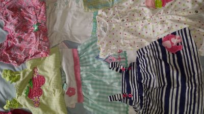 Summer Baby girl clothes 3-9 months