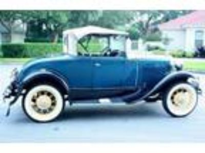 1930 Ford Model A RUMBLE SEAT ROADSTER RESTORED