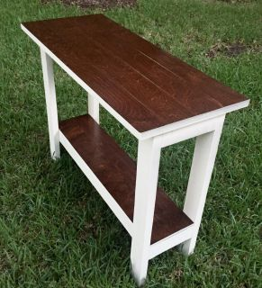 Hand Scraped Hickory Farmhouse Table (WILL DELIVER)