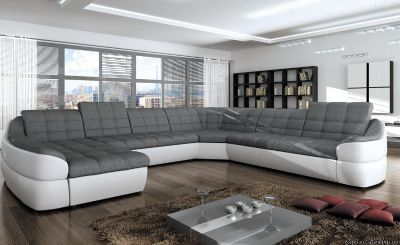 New spacious and rounded sofa