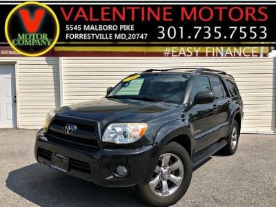 2008 Toyota 4Runner Limited (Black)