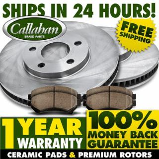Find FRONT KIT-Premium Callahan OE High Quality Blank Brake Rotors Quiet Ceramic Pads motorcycle in Orland Park, Illinois, US, for US $86.34