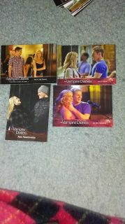Vampire diaries trading cards