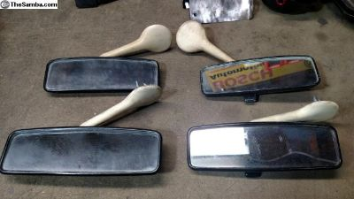 Rear view mirrors for late model Beetle