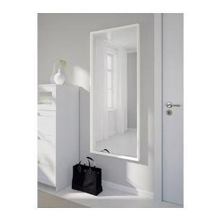 Ikea White Frame Long Mirror