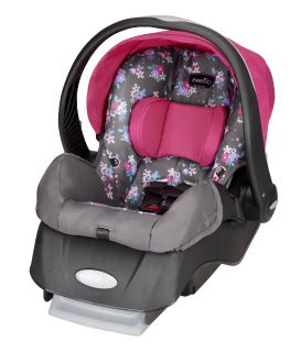 (( Brand-New In Box. )) Evenflo Embrace : Infant Car Seat In Blossom.