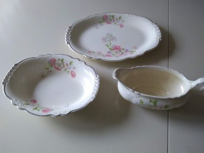 Homer Laughlin Virginia Rose Dishes