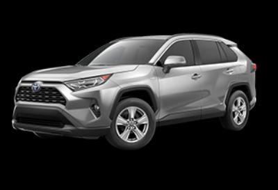 2019 Toyota RAV4 Hybrid XLE (Silver Sky Metallic)