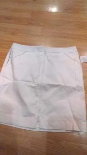 Ladies skirt, size 10, originally 39.99, new with tags. Cute zip up, has pockets, lined