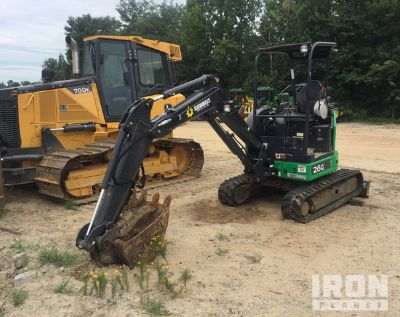2018 (unverified) John Deere 26G Track Excavator