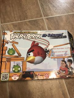 New angry bird remote control air swimmers.