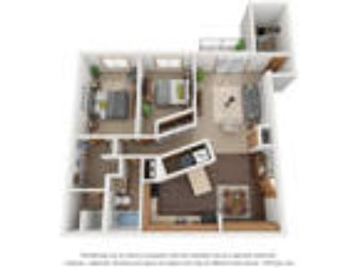 Monterey Apartments - 2 BR Two BA D With Den