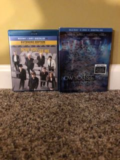 Now You See Me 1 and 2 Blu-ray Bluray