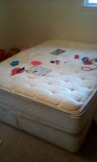 Free queen mattress and box spring