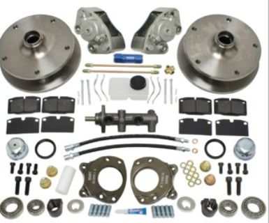 Front Disc Brake Kit, Type 2 68-70