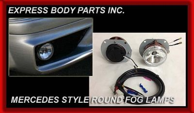 Find MERCEDES BENZ ROUND FOG LIGHTS SET SPORT E CLS C ML SLK NEW STYLE E63 LOOK NEW motorcycle in North Hollywood, California, US, for US $129.00