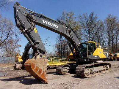 2015 Volvo EC480EL Track Excavator